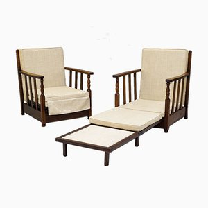 Daybed Armchairs, Set of 2