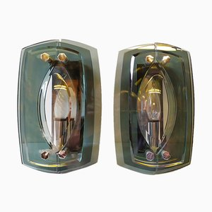 Wall Lights from Veca, Florence, 1970s, Set of 2