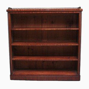 Early 19th Century Mahogany Open Bookcase