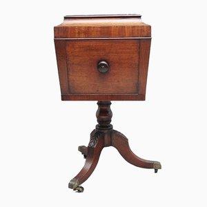 Early 19th Century Mahogany Teapoy Cabinet
