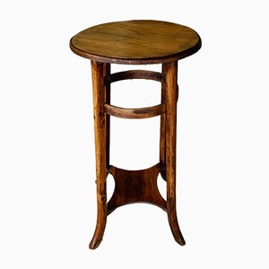 Vintage Bentwood Side Table, 1940s or 1950s