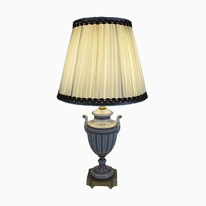 Decorated Porcelain Table Lamp