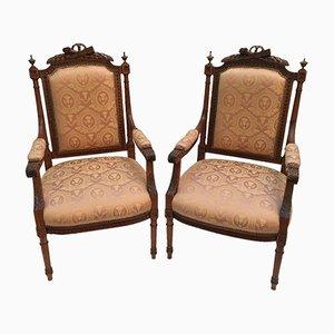 Bedroom Armchairs, Set of 2