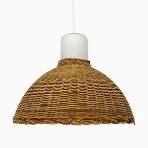 Wicker Pendant Lamp from Doria, 1960s