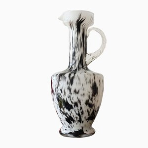 Mid-Century Dalmatian Art Glass Vase from V. B. Opaline Florence, 1970s
