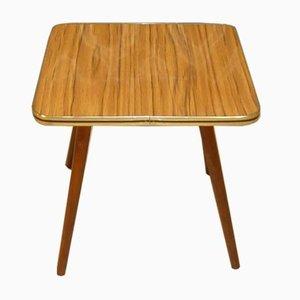 Formica and Teak Optics Side Table, 1960s