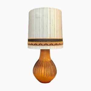German Glazed Ceramic Table Lamp from Kaiser Leuchten, 1960s