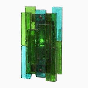 Glass Sconce by Svend Aage Holm Sørensen for Holm Sorensen & Co, 1960s