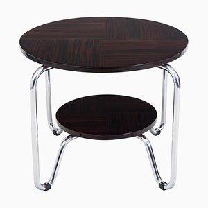 Bauhaus Chrome Side Table from Kovona, 1950s