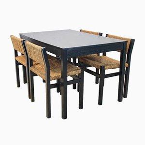 SE82 Dining Set by Martin Visser for Spectrum, Set of 5