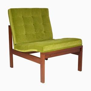 Danish Lounge Chair by Ole Gjerlov Knudssen for France & Son, 1960s
