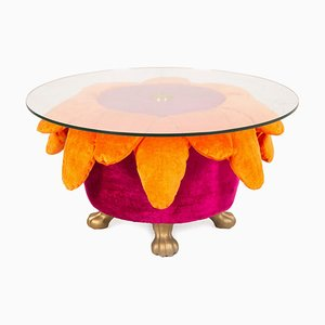 Orange and Pink Coffee Table