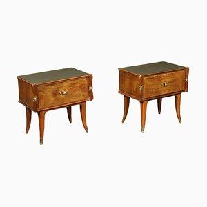 Bedside Tables, 1950s, Set of 2