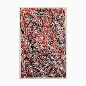 Dripping, Glaze on Canvas
