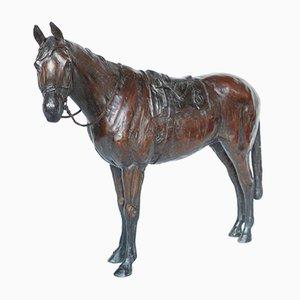 Lucky 6 Bronze Race Horse