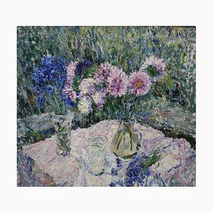 Georgij Moroz, Flowers on the Table, 1998