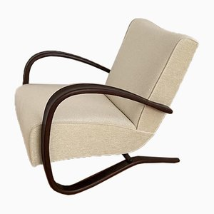 H-269 Twin Lounge Chairs by Jindřich Halabala