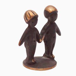 Gemini Zodiac Figurine by Herta Baller