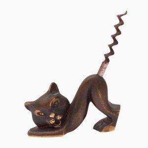 Cat Corkscrew by Richard Rohac