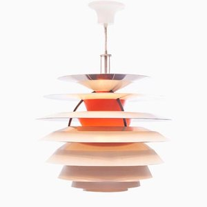 Snowball Hanging Lamp by Poul Henningsen for Louis Poulsen, 1960s