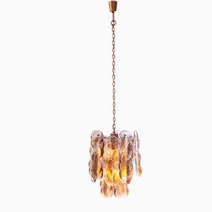 Murano Smoked Glass Hanging Lamp from J. T. Kalmar
