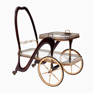Serving Cart by Cesare Lacca, 1940s