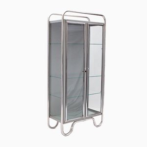 Chrome and Glass Cabinet