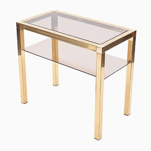 Italian Gold Plated Brass Console