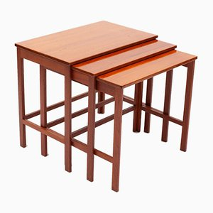Nesting Tables by Peter White and Orla Mølgaard-Nielsen for France & Son, Set of 3