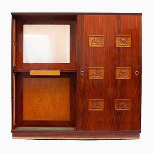Italian Locker by Vittorio Dassi for Palazzi Dell'arte