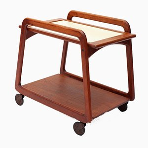 Teak Trolley from Sika Møbler, 1960s