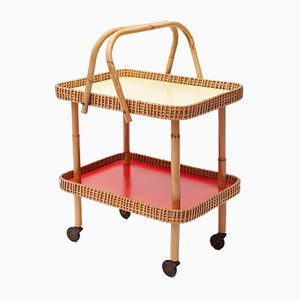 Small Bamboo Trolley