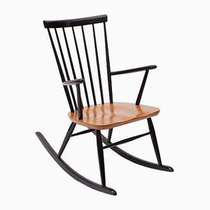 Rocking Chair by Roland Rainer for Thonet, 1950s