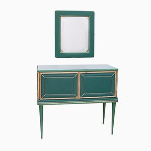 Dresser with Mirror by Umberto Mascagni, 1940s