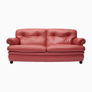 Leather Sofa by Tito Agnoli for Poltrona Frau