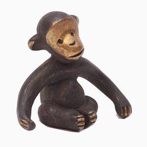 Monkey Figure by Herta Baller