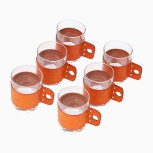 Tea Cups by Carl Auböck, Set of 6