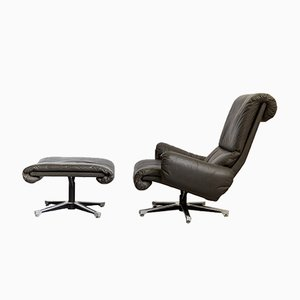 King Lounge Chairs by André Vandenbeuck for Strässle, Set of 2