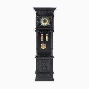 Antique Swedish Standing Clock, 1850s