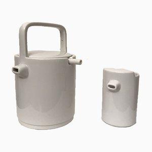 AIO Teapot and Milk Jug Set by Ronan & Erwan Bouroullec for Habitat, 2000, Set of 2