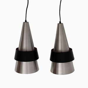 Corona Pendant Lamps by Jo Hammerborg for Fog and Morup, Set of 2