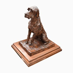 Plaster Griffin Sculpture