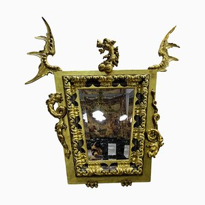 20th Century Art Nouveau Dragon Mirror in the Style of Gabriel Viardot