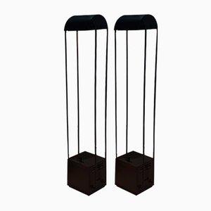 Tokyo Desk Lamps by Shigeaki Asahara for Stilnovo, 1980, Set of 2