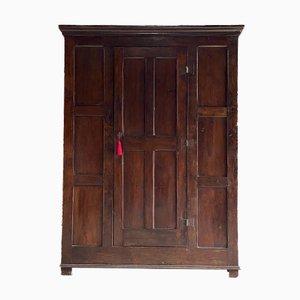 18th Century English George II Oak Pantry Cupboard, 1750s