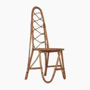 Spanish Rattan Chair, 1960s