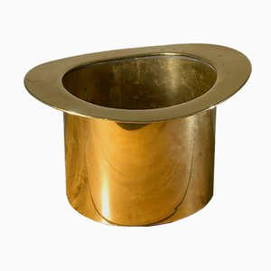 French Gilt Bronze Champagne Bucket, 1970s