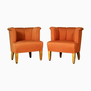 Alleegasse Easy Chairs by Josef Hoffmann for Wittmann, 1990s, Set of 2