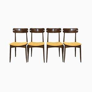 Scandinavian Chairs, 1960s, Set of 4