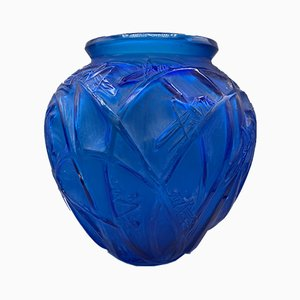Grasshoppers Vase by R. Lalique, 1912